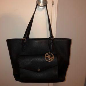 Michael Kors black bag.
